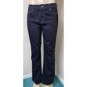 Ralph Lauren classic straight dark jeans size 10